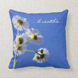 Breathe Inspiration Pillow Pillow