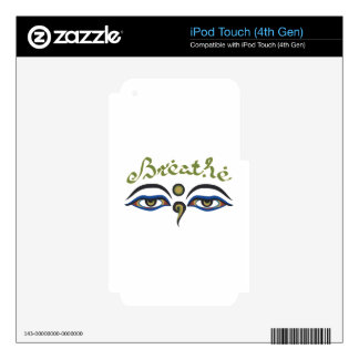 Breathe iPod Touch 4G Skins