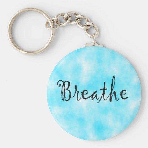 Breathe-keychain Keychain