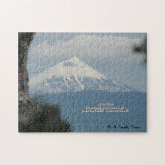 Breathe! Mt Mc Laughlin Oregon Jigsaw Puzzle