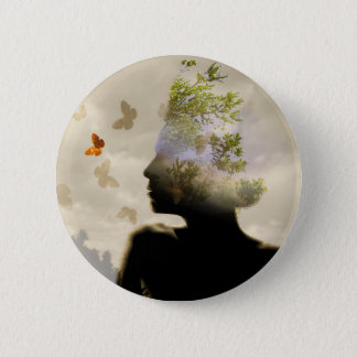 Breathe Pinback Button
