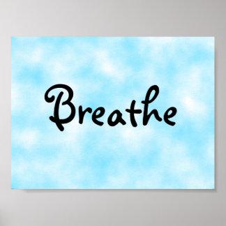 Breathe-poster Poster