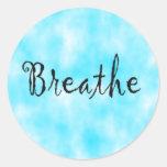 Breathe-sticker