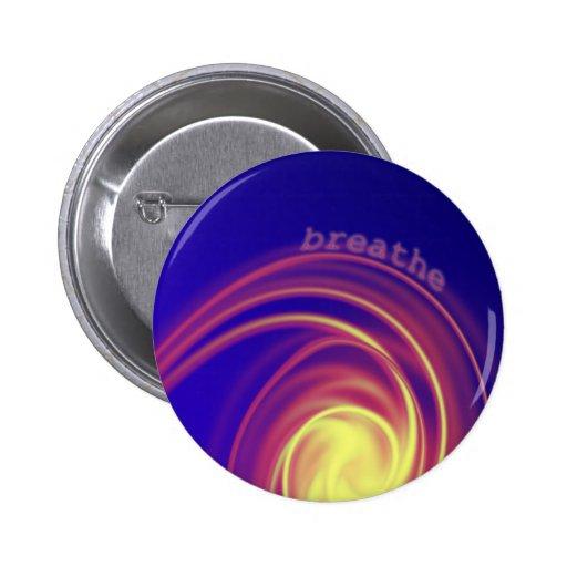 """Breathe"" Swirling Light Button"