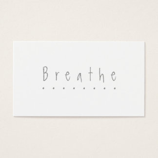 "Breathe - the ""take a break"" card"