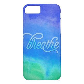Breathe Watercolor iPhone 7 Case