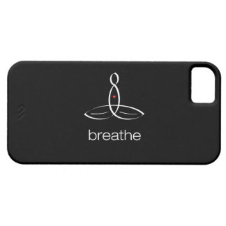 Breathe - White Regular style iPhone SE/5/5s Case