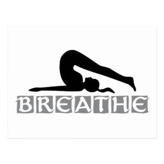 BREATHE Yoga Post Card