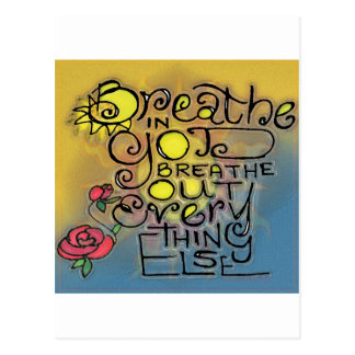 BREATHEa.jpg Postcard