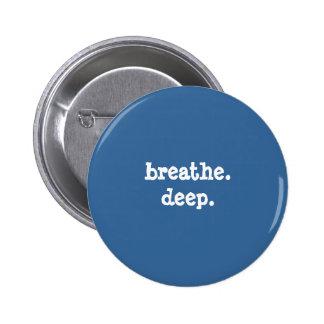 breathedeep - Customized - Customized Pinback Button