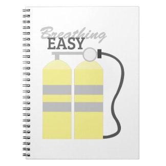 Breathing Easy Notebook