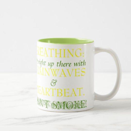 Breathing - Mug - Green/Yellow