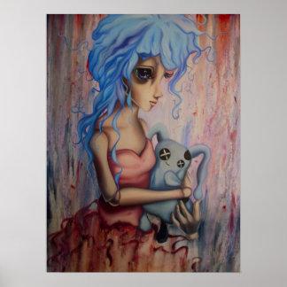 """Breathing Spell"" poster print of oil painting"