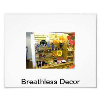 Breathless Decor Image Photo Print