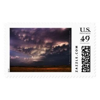 Breathtaking Dusk Storm Postage