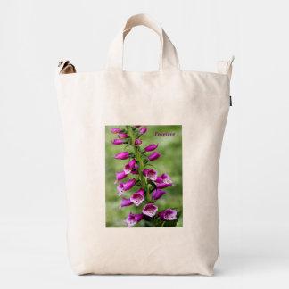 Breathtaking Foxglove Duck Bag
