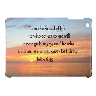 BREATHTAKING JOHN 6:35 SUNRISE DESIGN iPad MINI CASE