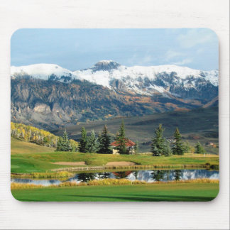 Breathtaking Mountain View Mousepad