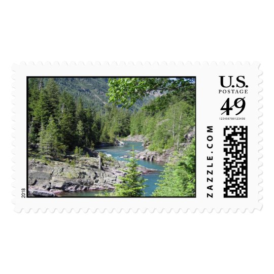 Breathtaking National Forest Postage