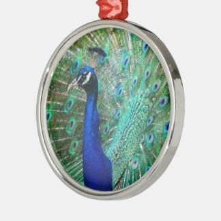 Breathtaking Peacock Metal Ornament