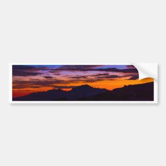 Breathtaking Southern Arizona Sunset Car Bumper Sticker