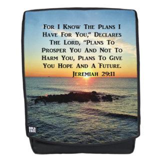 BREATHTAKING SUNRISE JEREMIAH 29:11 BACKPACK