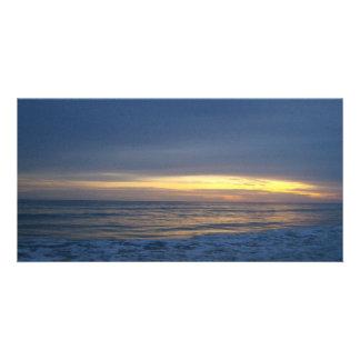 Breathtaking Sunset at Oak Island Card