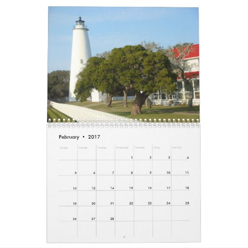 Breathtaking views of the Outerbanks of N.C. Calendar