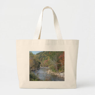 Breathtaking West Virginia River Large Tote Bag