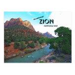 Breathtaking Zion National Park Postcard