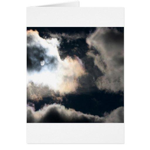 Brecha caliente de la tormenta tarjeta de felicitación