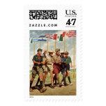 Brecha para la libertad sello postal