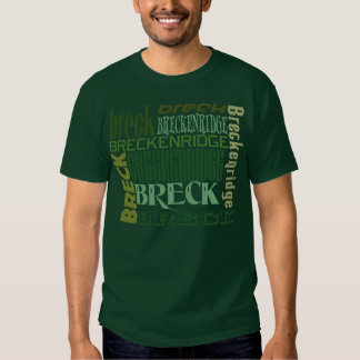 Breck Block Colors T Shirt