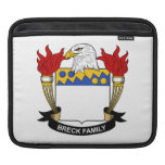 Breck Family Crest iPad Sleeves