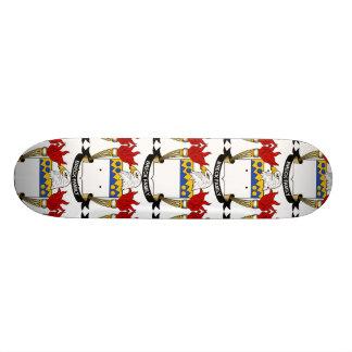 Breck Family Crest Skate Board Deck