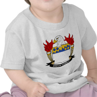 Breck Family Crest Tshirts