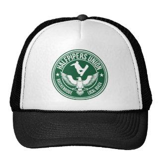 Breck Halfpipers Union Green Trucker Hat