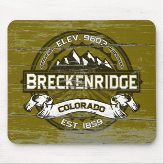 Breck Olive Old Paint Mouse Pad