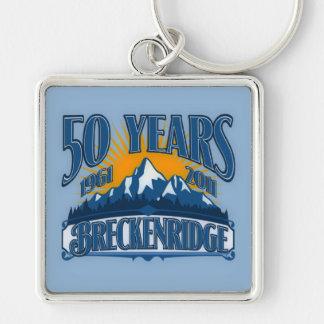 Breckenridge 50th Anniversary  Keychain