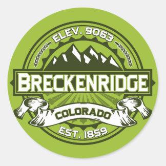 Breckenridge Color Sticker