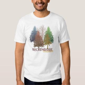 Breckenridge Colorado colorful trees guys tee