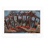 Breckenridge, Colorado - escenas grandes de la Postales