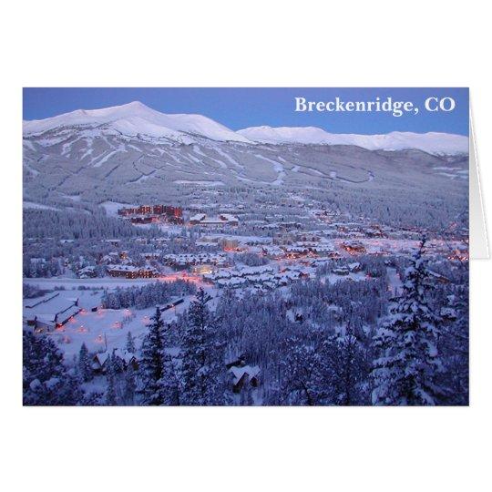 Breckenridge, Colorado Greeting Card