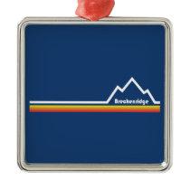 Breckenridge, Colorado Metal Ornament