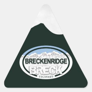 Breckenridge Colorado Mountain Tag Stickers