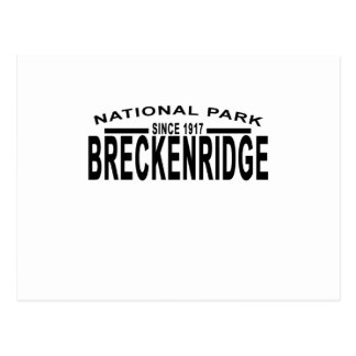Breckenridge Colorado NATIONAL PARK T-shirts '.png Postcard