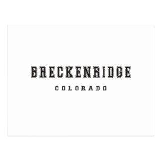 Breckenridge Colorado Post Card