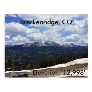 Breckenridge, Colorado postcard