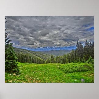 Breckenridge Colorado scenic canvas print