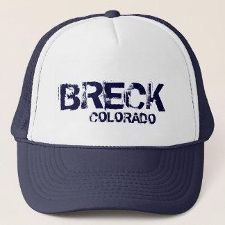 Breckenridge Colorado simple navy blue hat